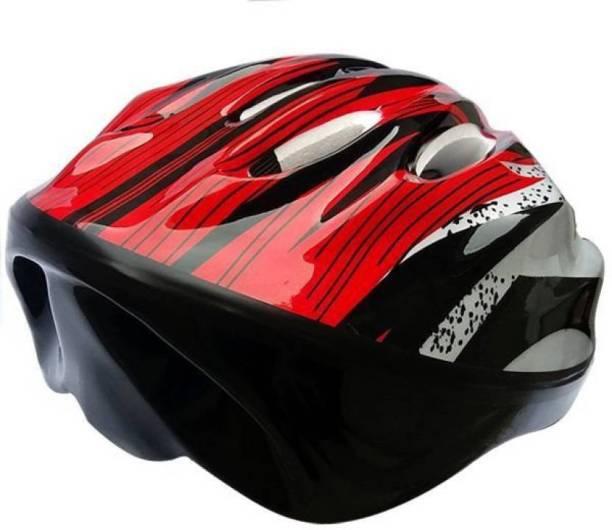 Konex Adjustable Cycling Skating Skateboarding Helmet Red Cycling Helmet