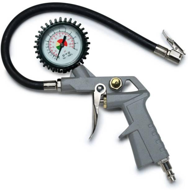 Tyre pressure gauges buy tyre pressure gauges online at best isc analog tire pressure gauge high quality car bike truck dial tire air pressure greentooth Gallery