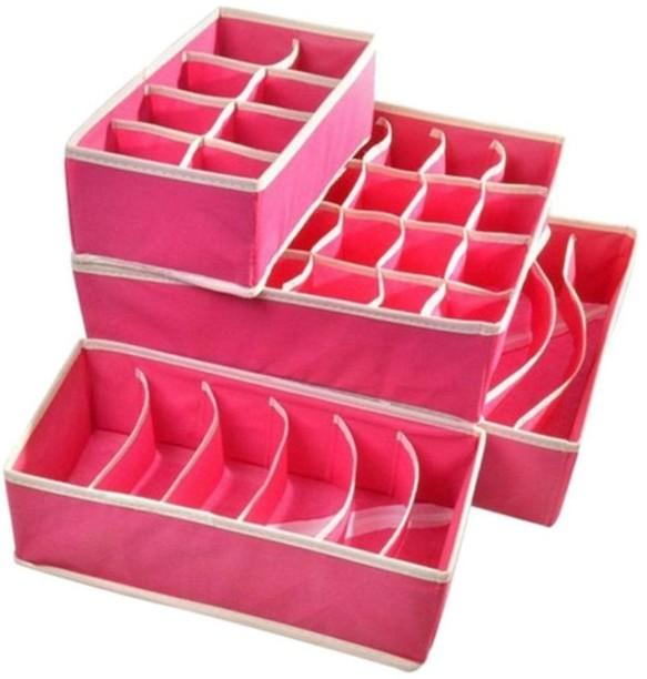 Sellus Set of 4 Foldable Drawer Dividers Storage BoxesInnerwear Storage Box Closet  sc 1 st  Flipkart & Sellus Luggage Travel - Buy Sellus Luggage Travel Online at Best ...