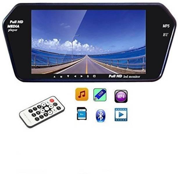 Auto Garh 7 Inch Bluetooth Screen Monitor For Safari Black LED