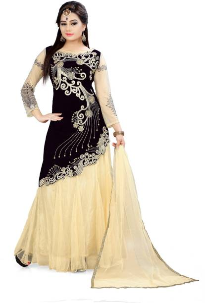 Black Gowns - Buy Black Gowns Online at Best Prices In India ...