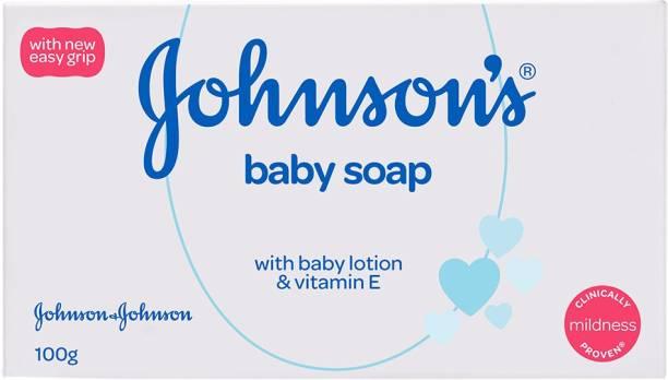 JOHNSON'S Baby Soap with Baby Lotion & Vitamin E