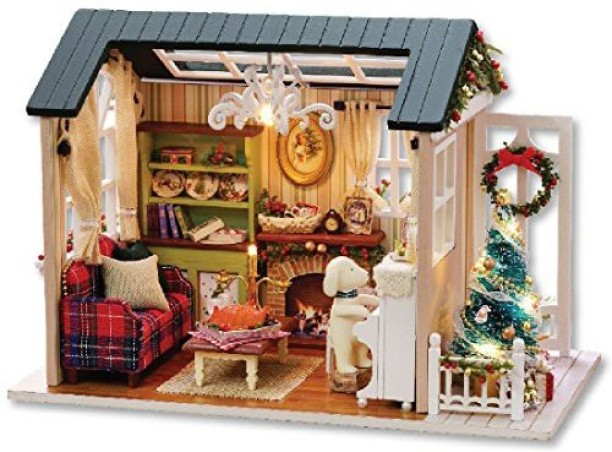 Lundby Sm?land Dog Family 1:18 Scale Dolls House