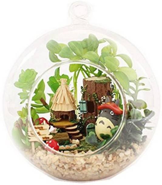 Famulei 3D Tribe Of Elves Christmas Gift Glass Ball Birthday Diy Model Led Kits
