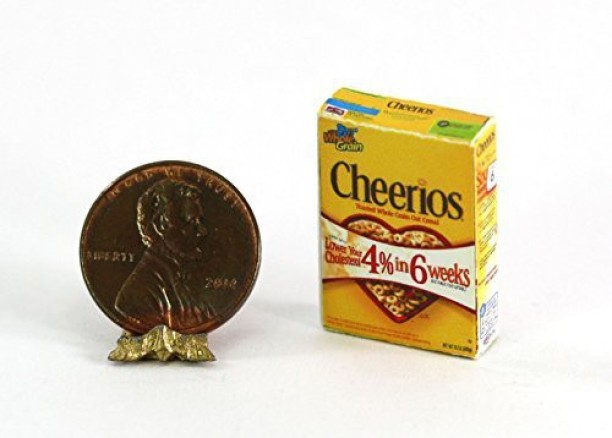 Dollhouse Miniature Famous Children/'s Cereal by Cindi/'s Mini/'s