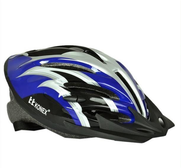 Konex Adjustable Cycling Skating Skateboarding Helmet Grey Cycling Helmet
