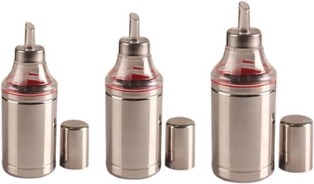 Dynore 1000 ml Set of 3 Oil dropper - 1000 ml,750 ml,500 ml Cooking Oil Dispenser Set