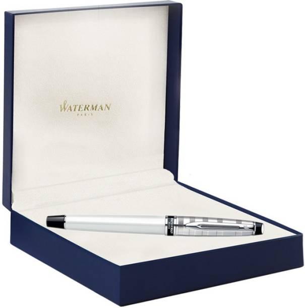 Waterman Expert Deluxe White CT Roller Ball Pen