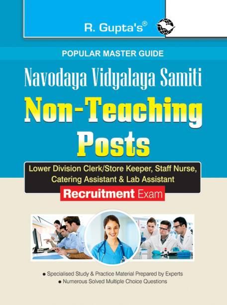 Navodaya Vidyalaya: Non-Teaching Posts (LDC/SK, Staff Nurse, Catering Asst. & Lab Asst.) Recruitment Exam Guide