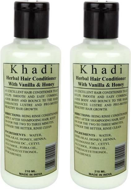 Khadi Herbal Vanila & Honey Hair Conditioner (Twin pack )