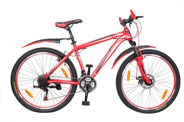 5ace461189e WOLF Jogger Disc Brake Bicyle For Adults 26 T Mountain Hardtail Cycle