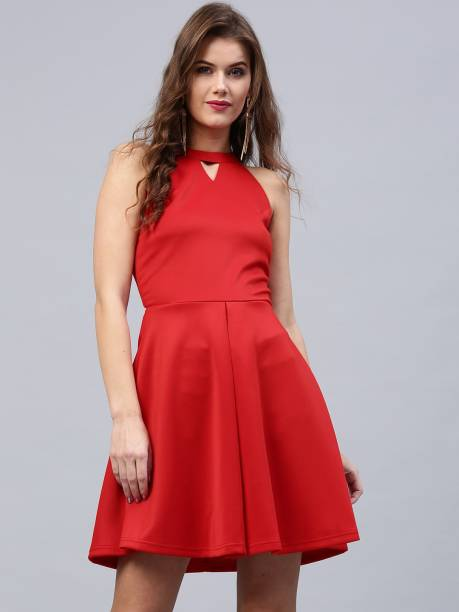 b095ba766c1 Red Dresses - Buy Red Party Dresses Online at Best Prices In India ...