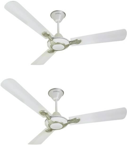 Havells leganza 3bpack of 2 3 blade ceiling fan