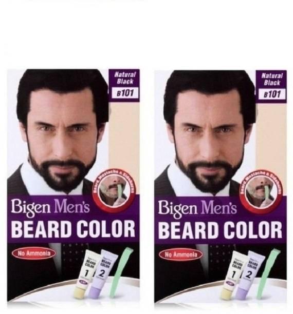 Bigen Beard Colour Natural Black 101 , Natural Black