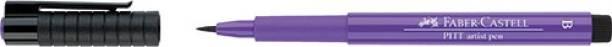 FABER-CASTELL Pitt Artist Pen Color Purple Violet – Pack
