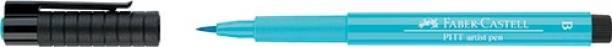 FABER-CASTELL Pitt Artist Pen Color Light Cobalt Turquoise – Pack