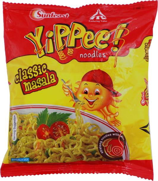 YIPPEE Classic Masala Instant Noodles Vegetarian