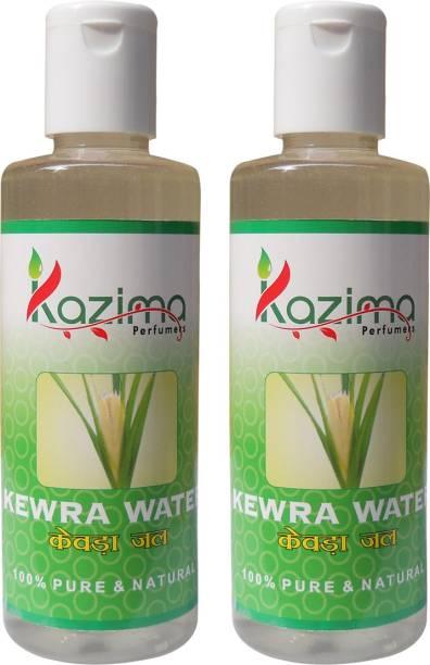 KAZIMA Kewra Water (2 Pcs of 100ML) - Pure Natural & Undiluted