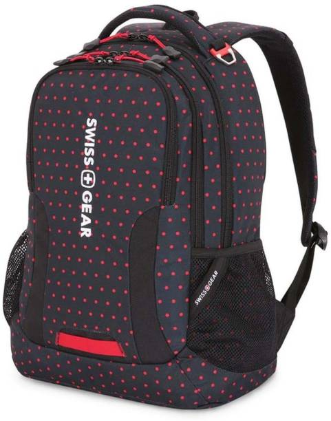 Swiss Gear Laptop Backpack Dots Print 23 L