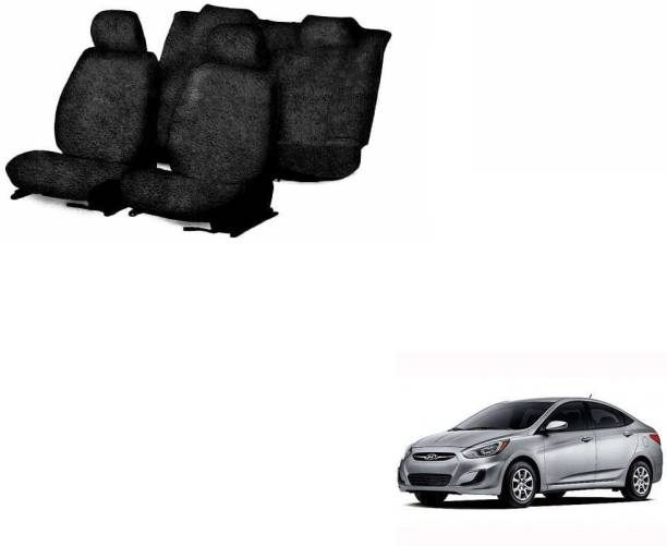 JMJW & SONS Cotton Car Seat Cover For Hyundai Accent