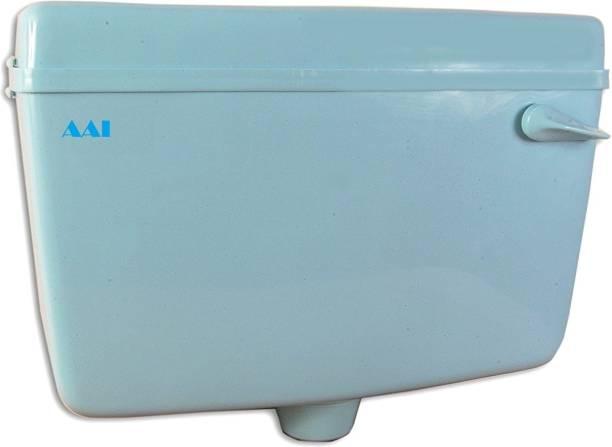 AAI Pvc Classic Flusing cistern , Flush Tank - Blue Side Handle Flush Tank