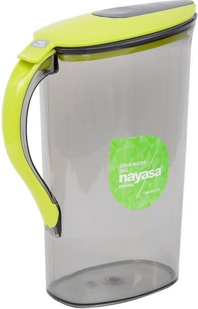 NAYASA 2.1 L Water BPA Free Icon ( Green ) Jug