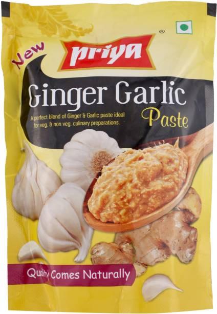 Priya Ginger Garlic Paste