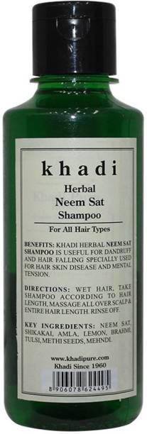 KHADI Herbal Neem Sat Shampoo