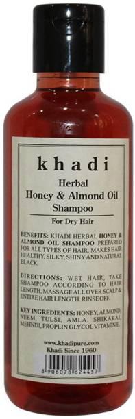 KHADI Herbal Honey & Almond Oil Shampoo