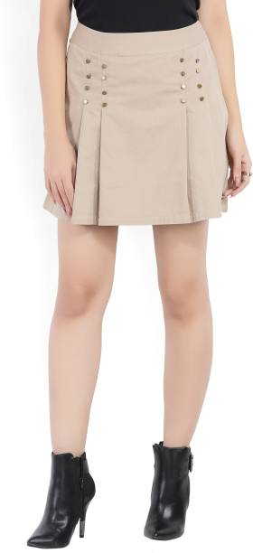 f77f9234fe4 Brown Skirts - Buy Brown Skirts Online at Best Prices In India ...