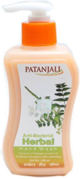 PATANJALI Anti-Bacterial Herbal Handwash Hand Wash Pump Dispenser