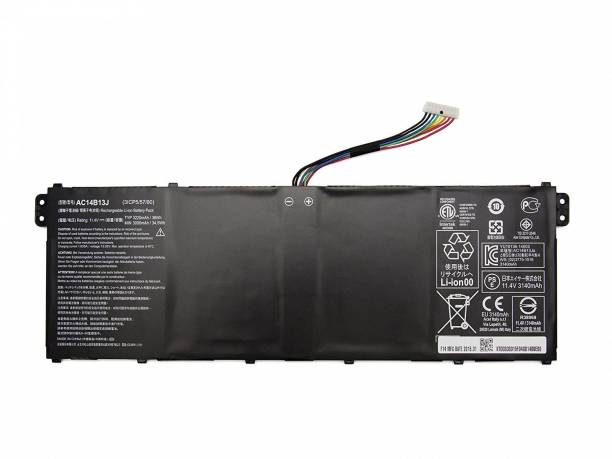SellZone Compatible Laptop Battery For Ar Aspire ES1-531Aspire ES1-531-31XM,Aspire ES1-531-C030 6 Cell Laptop Battery