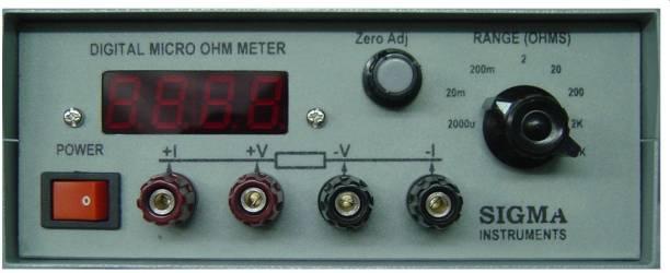 SIGMA micro ohm micro ohm Non-magnetic Electronic Level