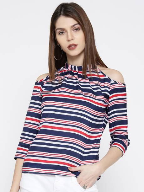 35f105e4e4298 Cold Shoulder Tops - Buy Cut Out Shoulder Tops Online at Best Prices ...