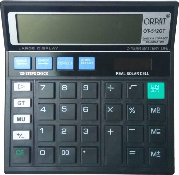 Financial Calculator Online >> Orpat Calculators Buy Orpat Calculators Online At Best
