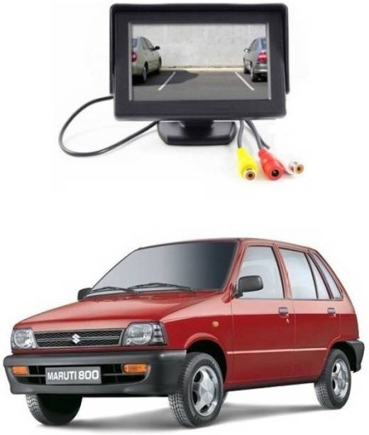 Auto Garh TFT Monitor & LED Reverse Parking Camera With 1YR Warranty For 800 Black LCD