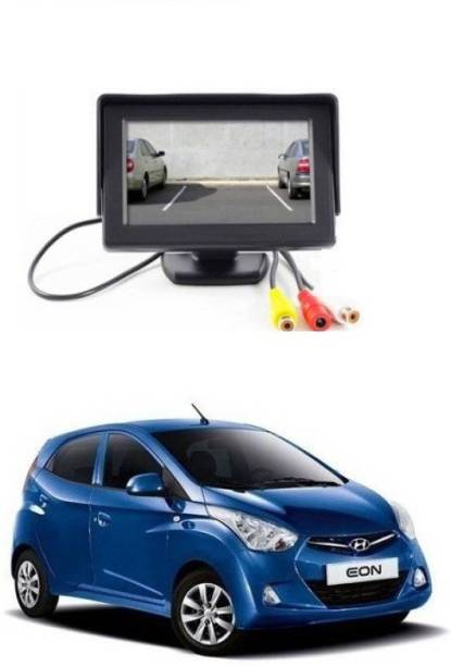 Auto Garh TFT Monitor & LED Reverse Parking Camera With 1YR Warranty For Eon Black LCD