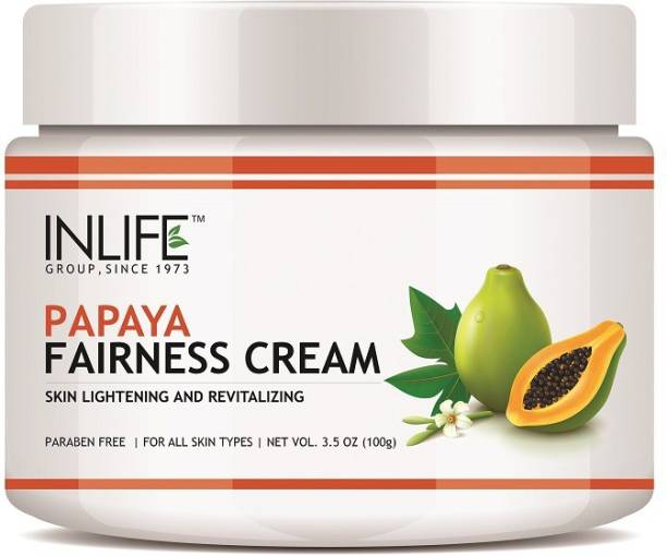 Inlife Natural Papaya Skin Lightening and Revitalizing Fairness Cream