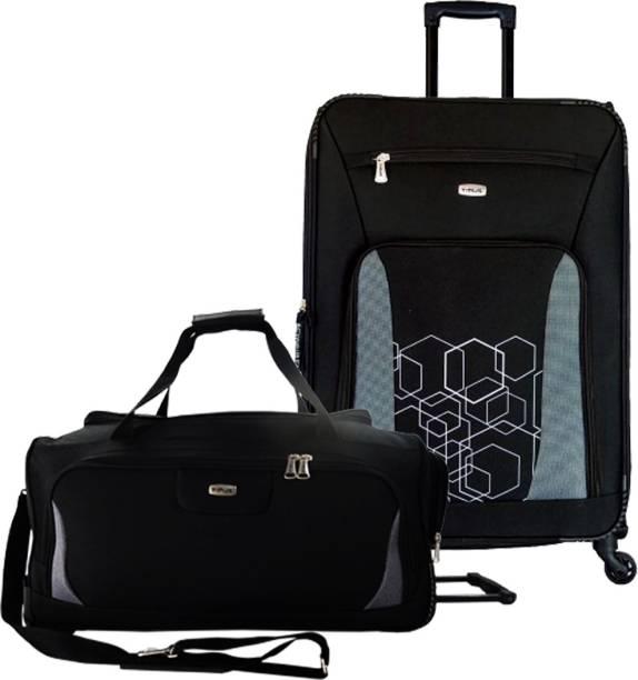 TIMUS Morocco Spinner Black 65 cm 4 Wheel Strolley Suitcase   Morocco Plus  Black 55 cm 76fc708051