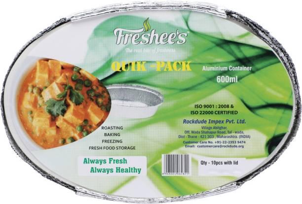 Freshee Quik - Pack Aluminium Container 600 ml Tray