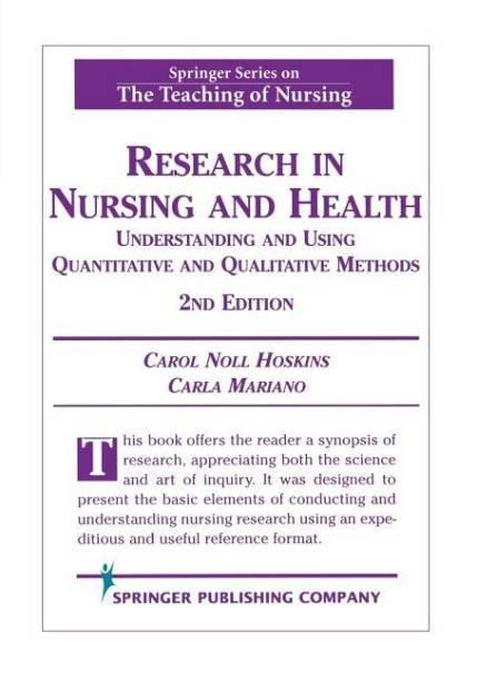 distance education in nursing third edition springer series teaching of nursing