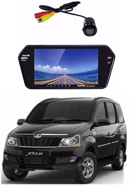 Auto Garh Rear View 7 Inch Bluetooth Monitor & Camera with 1 YR Warranty For Xylo Black LED