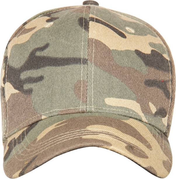4ccaf948212 FabSeasons Camouflage Cotton Unisex Free Size with Adjustable Buckle  Baseball Summer Cap   Hat Cap