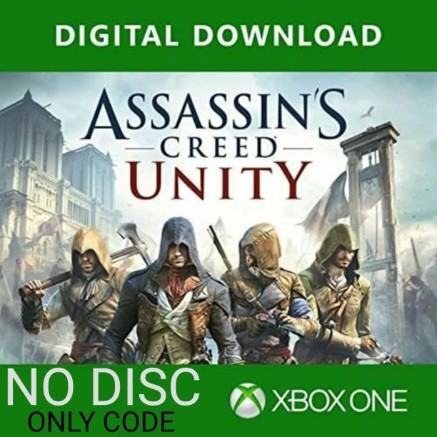 Assassins Creed Unity Xbox One Download Code Only (NO CD/DVD)
