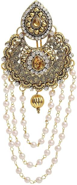 Sanjog Bahubali Inspired Traditional Hair Juda Brooch For Women Girls For Wedding Girls Hair Pin