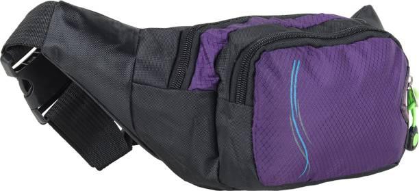 Sri Fanny Design Unisex Lining Waist Bags for Men Women Workout Travel 0.5  Ltr (Purple 2aa972cff9193