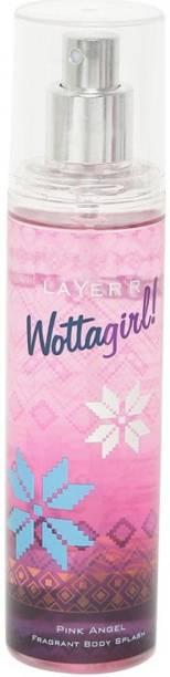 LAYER'R Wottagirl Pink Angel Deodorant Spray  -  For Women