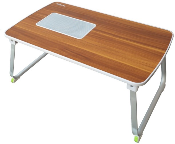Portronics Mybuddy L Por 833 Solid Wood Portable Laptop Table