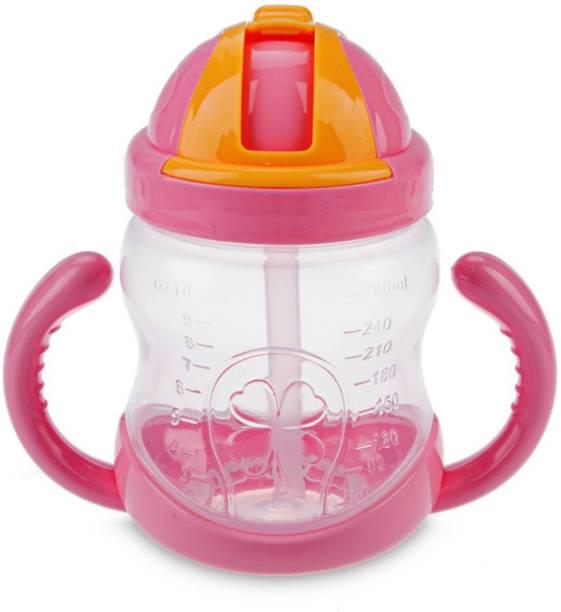 GOCART Eco-friendly Baby Water Bottle 350ml With Straw Children Kettle Drinkware