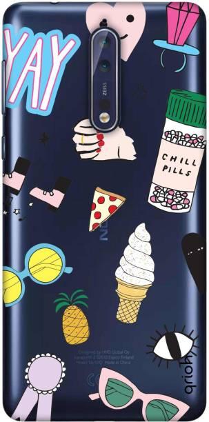 QRIOH Back Cover for Nokia 8